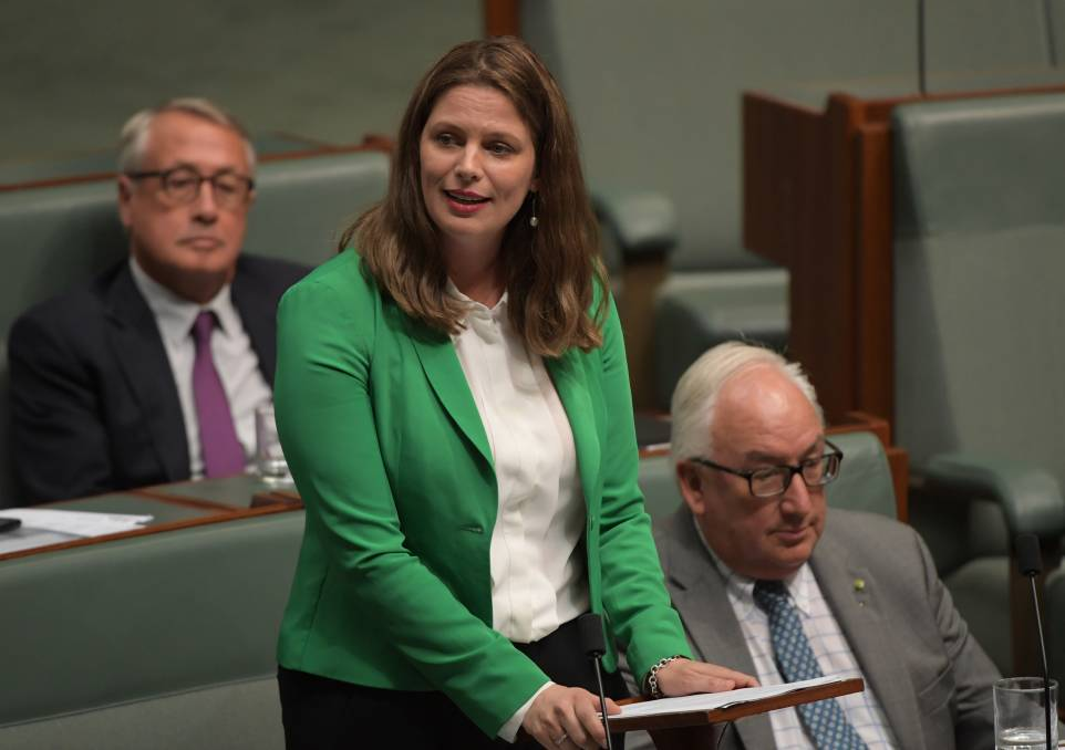 Former Labor MP for Adelaide giving her valedictory speech. Picture: Getty Images