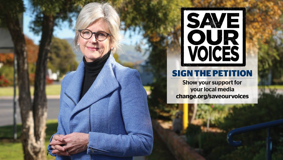 Indi MP Helen Haines says the Save Our Voices campaign is